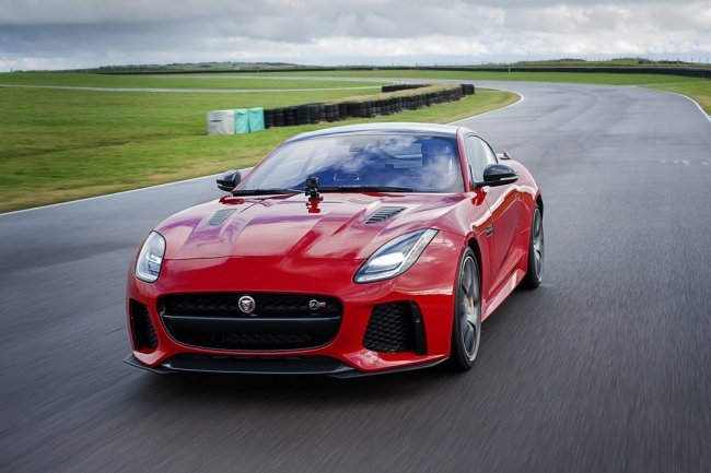 Обновленный Jaguar F-Type подружили с камерой GoPro