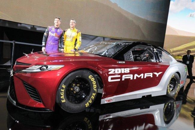 Новую Toyota Camry подготовили для гонок