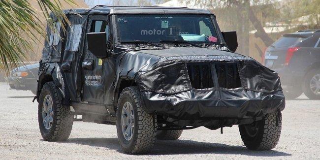 Названа дата премьеры Jeep Wrangler нового поколения