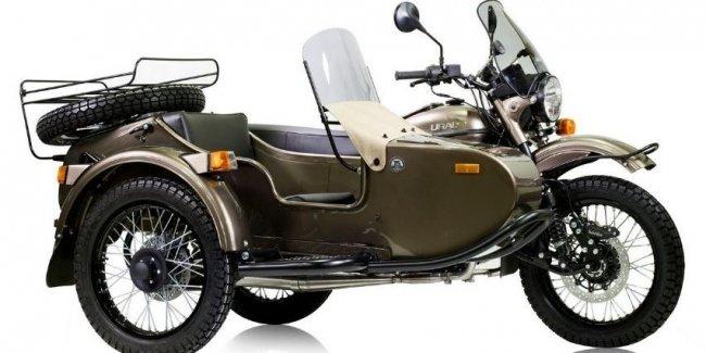 Мотоциклы Урал поступили в продажу в США с бутылкой водки