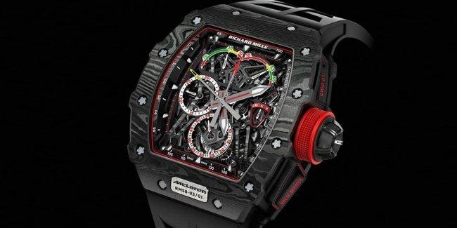 Часы на миллион от McLaren и Richard Mille