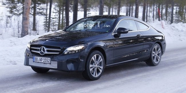 Mercedes-Benz обновит купе C-Class