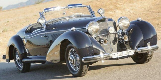 Раритетный Mercedes со сложной судьбой продали за $6,6 млн.