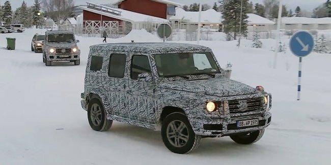 Новый внедорожник Mercedes-Benz G-Class показали на видео