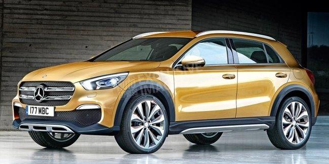 Mercedes представит новое поколение GLA в 2019 году