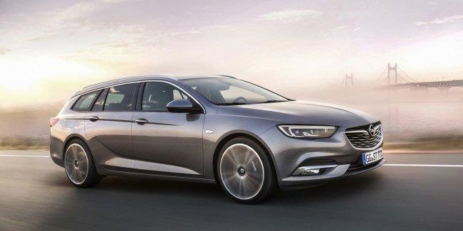Opel представил универсал Insignia нового поколения