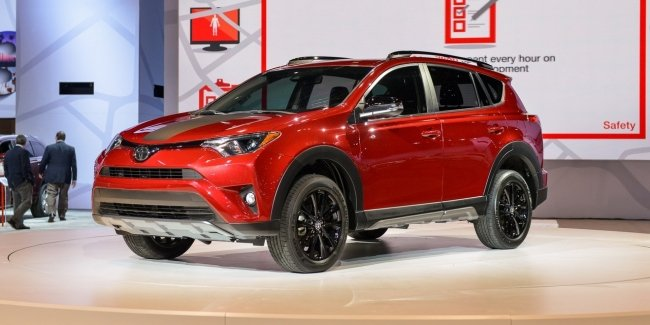 Toyota RAV4 Adventure дебютировала в Чикаго