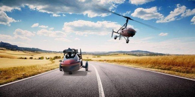 Первый в мире серийный летающий автомобиль оценили в полмиллиона евро