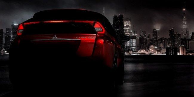 Кроссовер Mitsubishi Eclipse Cross показался на новом официальном фото