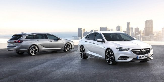 Opel Insignia Grand Sport получил европейский ценник