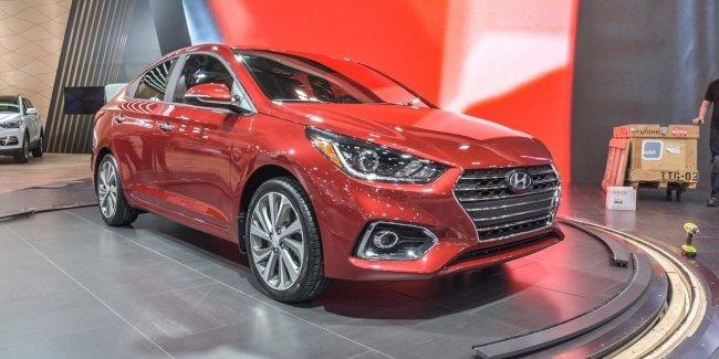 Hyundai официально представил седан Accent нового поколения