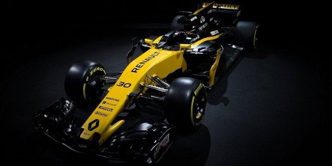 Renault представила новый болид
