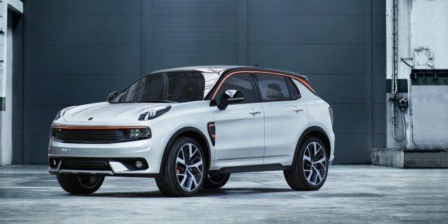 Первый автомобиль нового бренда Lynk & Co покажут публике в апреле