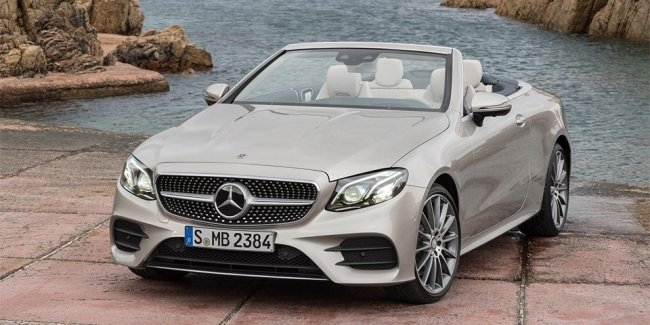 Mercedes-Benz E-класса лишили крыши