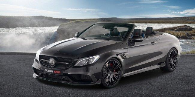 «Заряженный» кабриолет Mercedes-AMG C 63 S получил 650-сильный двигатель