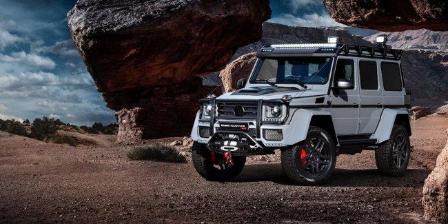 Внедорожник Mercedes-Benz G500 4x4 получил 542-сильный двигатель