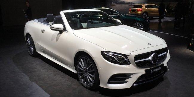 Мягкий верх, жесткий низ: что такое Mercedes E-Class кабриолет