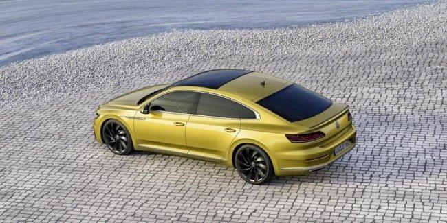Volkswagen Arteon в Украине: цена, комплектации и модификации