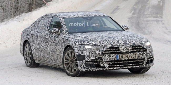 Названа дата премьеры Audi A8 нового поколения
