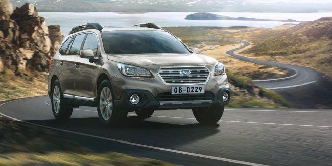 Subaru Outback получил награду «Лучший семейный кроссовер 2017»