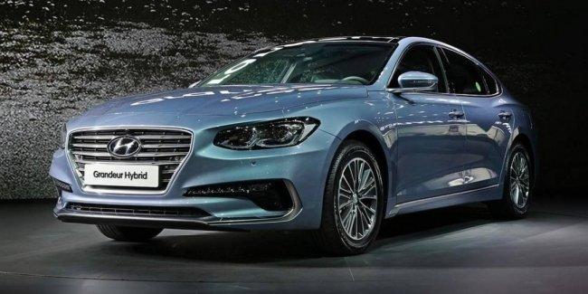 В Сеуле дебютировал новый гибридный седан Hyundai Grandeur Hybrid