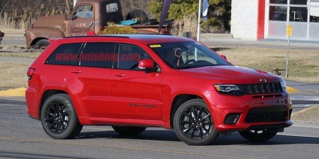 Названа дата премьеры сверхмощной версии Jeep Grand Cherokee