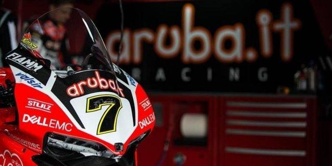 После этапа WSBK в Арагоне лидирует Джонни Рэй на мотоцикле Kawasaki