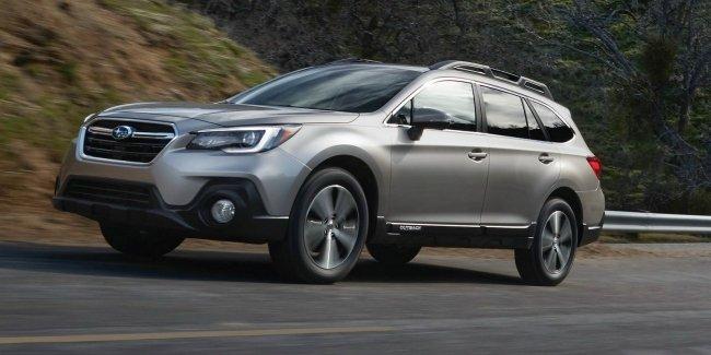 Обновлённый универсал Subaru Outback 2018 модельного года представлен официально