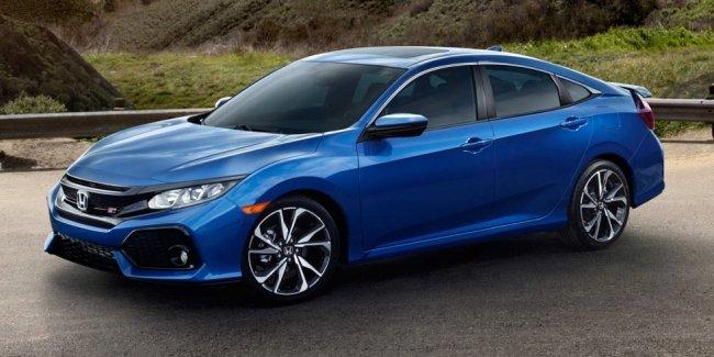 Honda «подогрела» новый Civic