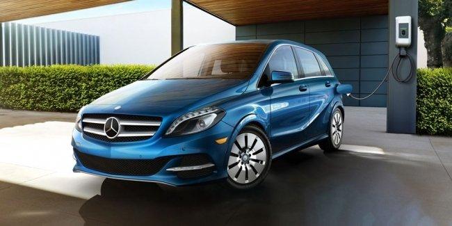 Mercedes-Benz готовит «электрическое наступление»