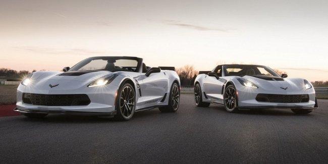 Chevrolet представила юбилейный спорткар Corvette Carbon 65 Edition