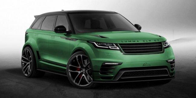 Ателье Lumma Design готово предложить Range Rover Velar широкий обвес