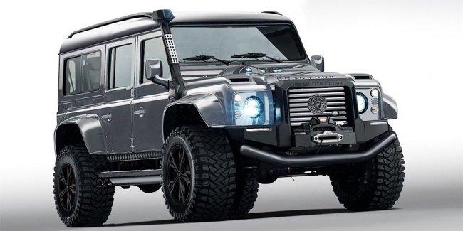 Бывший глава «Лотуса» придумал очень злой Land Rover Defender с V8