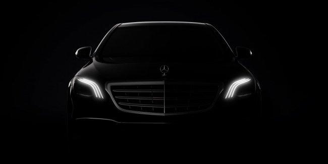 Mercedes-Benz опубликовал первые изображения обновленного S-Class