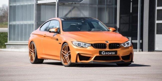 Немцы увеличили мощность BMW M4 в полтора раза