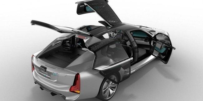 Qoros и Koenigsegg раскрыли совместный асимметричный электросуперкар