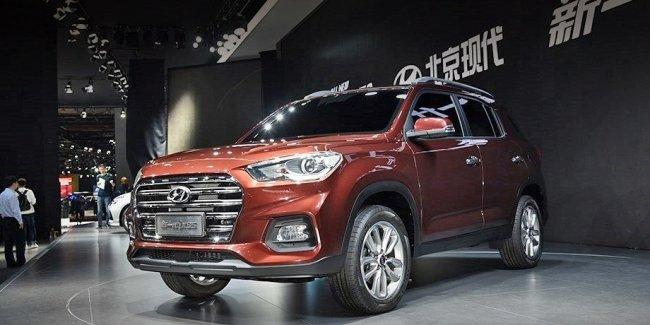 В Китай явился брутальный Hyundai ix35 нового поколения