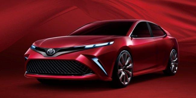 Toyota намекнула «веселым» концептом на новую китайскую Camry