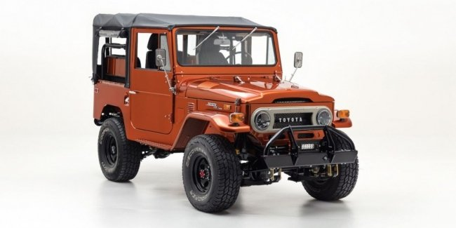 Американцы восстановили Toyota Land Cruiser FJ40