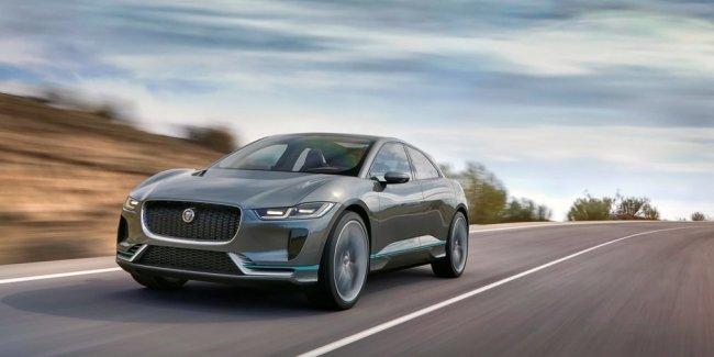 Jaguar назвал дату премьеры своего первого электрического кроссовера