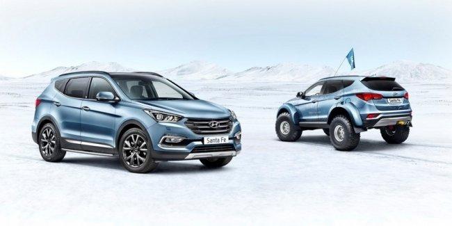 Кроссовер Hyundai Santa Fe получил особую версию Endurance Limited Edition