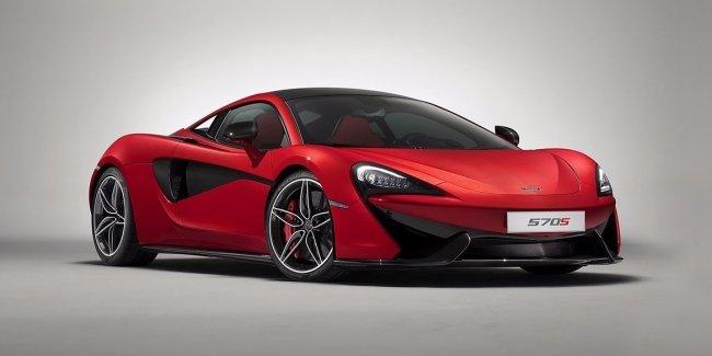 Открытый McLaren 570S дебютирует до конца года