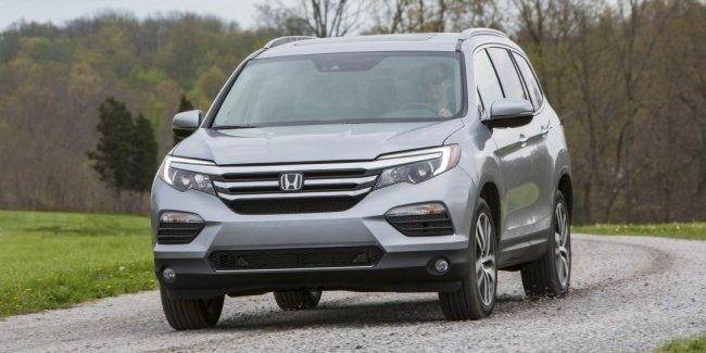 В 2018 году на рынке появится пятиместная версия внедорожника Honda Pilot
