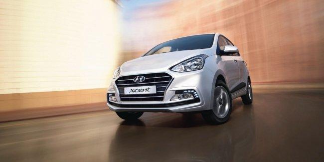 Обновлённый седан Hyundai Xcent представлен официально