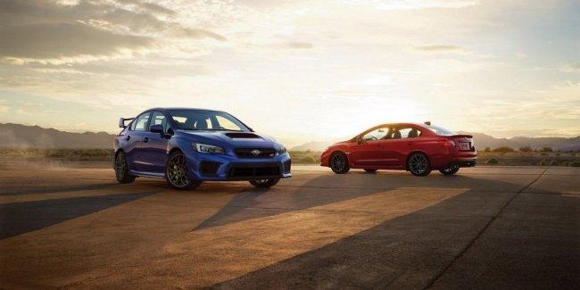 Озвучены цены обновлённых седанов Subaru WRX и WRX STI 2018 модельного года
