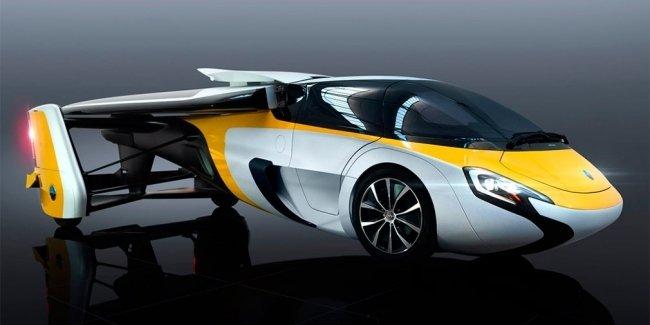 В Монако представили летающий автомобиль