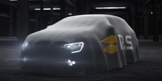 Новый Renault Megane R.S. будет самым мощным в истории