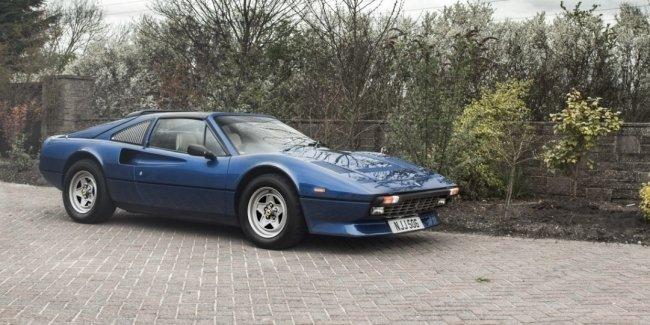 Раритетный Ferrari 308 GTS QV с двигателем V12 оценивают в 77 000 долларов