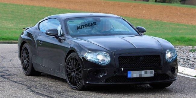 Bentley вывела на финальные тесты Continental GT