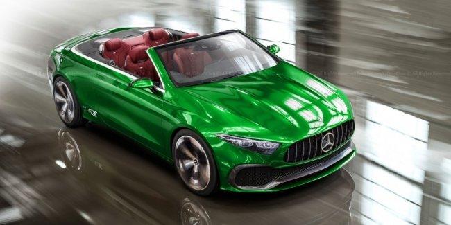 Концептуальный седан Mercedes-Benz A Concept лишили крыши